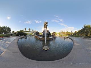 法国四大洲喷泉