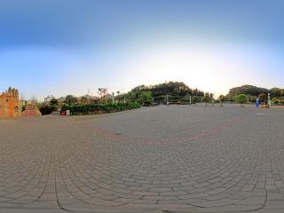 北门游客中心全景