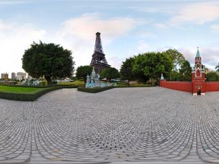 俄罗斯克里姆林宫墙及钟楼