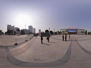 南宁火车站全景