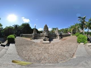 印度尼西亚婆罗浮屠正面