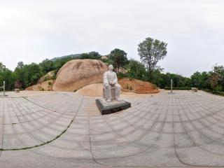 魏朗斋石像全景