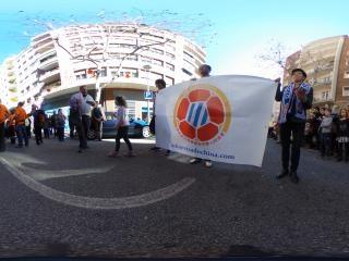 2016西班牙巴塞罗那猴年春节大游行虚拟旅游