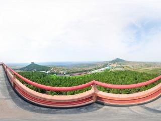 东乳峰阕楼全景