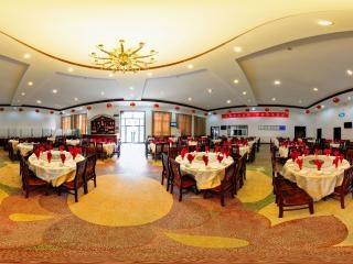 涉外餐厅大厅全景