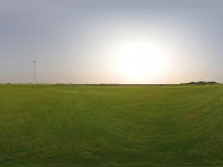曹妃甸高尔夫球场全景