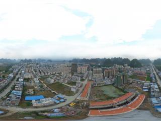 广西—崇左大新县全景全景