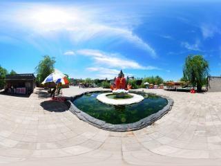 水上乐园喷泉池