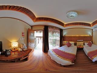 花园别墅双床房
