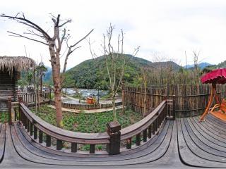 江景别墅(7-2)花园全景