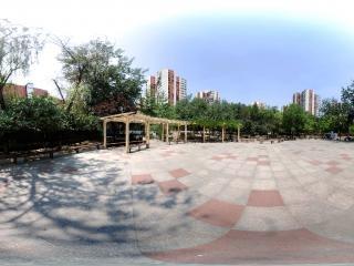 北京—朝阳区潘家园松榆里社区公园全景