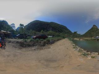 洛满高兴村滩泉3全景