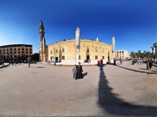 埃及—开罗汗哈利利清真寺全景