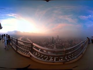 广东—广州电视塔全景