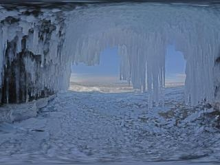俄罗斯—美丽的贝加尔湖全景