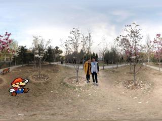 北京古塔公园虚拟旅游