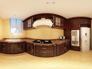 河南—南阳厨房装饰展示全景