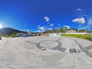 西藏—林芝东巴才村1全景