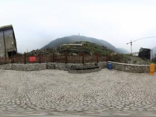 汶川地震遗址—学校全景