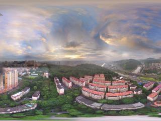湖南—郴州北城彩虹全景