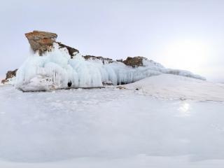 冰裂(二)全景