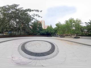 北京—朝阳区走进松榆里社区公园(四)全景