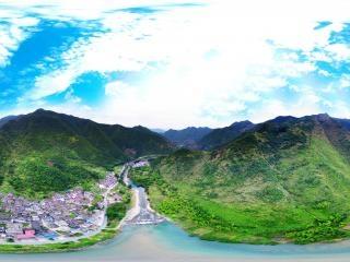 安徽—池州古村泮巷全景