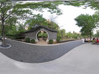北京—朝阳区走进松榆社区公园(一)全景