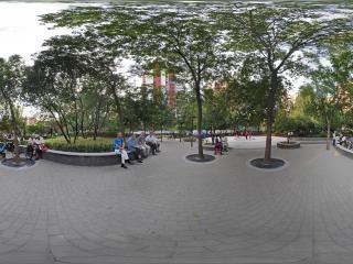 北京—朝阳区走进松榆里社区公园