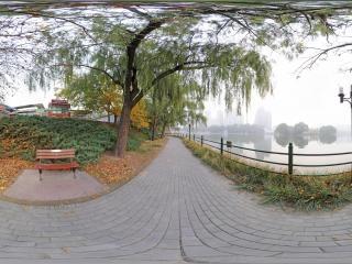 北京—朝阳区朝阳公园沿河通道