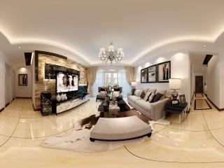 北京—室内客厅装饰全景