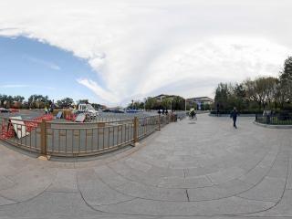 北京—天安门西侧路全景