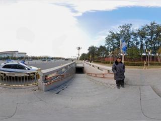 北京—天安门西侧地下通道口