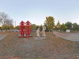 北京—朝阳区太阳宫公园全景