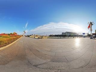 北京—天安门西侧全景