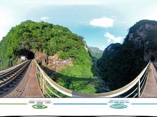 人字桥虚拟旅游