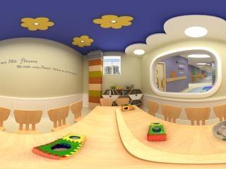 山西—晋中幼儿园教室设计图全景