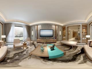 广东—中山新中式餐厅设计图全景
