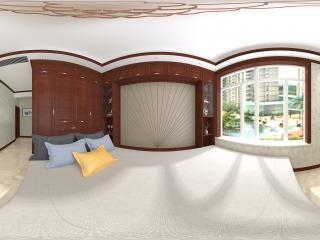 山西—晋中卧房设计图展示全景