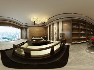 江苏—徐州一客厅设计作品欣赏全景