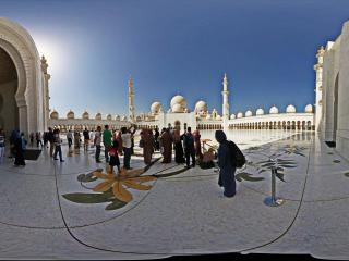 阿布扎比-谢赫·扎耶德大清真寺虚拟旅游