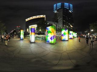 台湾101大厦全景