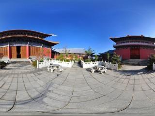 千佛殿(左)