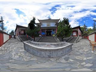 天龙寺院子