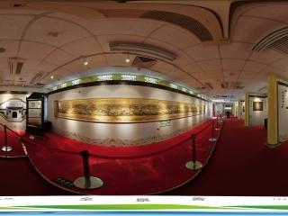 长河文化展厅全景