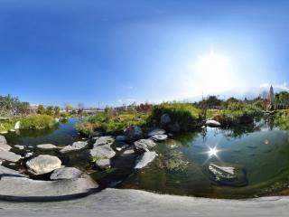 天龙池景观