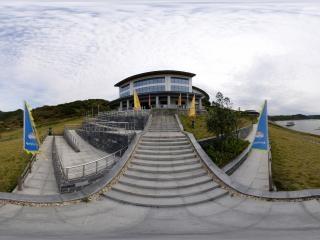 太极湖游客码头全景