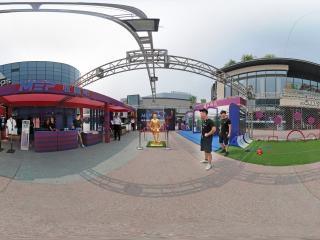 北京—海淀五棵松华熙市场全景
