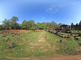 柬埔寨大吴哥全景