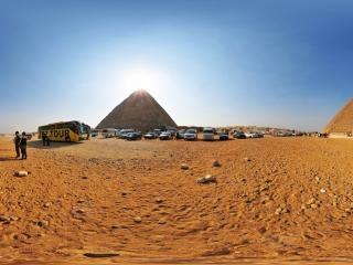 开罗-吉萨金字塔群虚拟旅游
